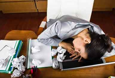 Efectele negative produse de oboseală