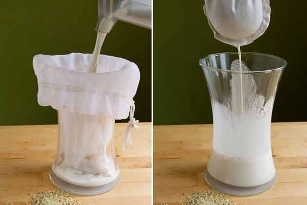 Uimitorul lapte de cânepă