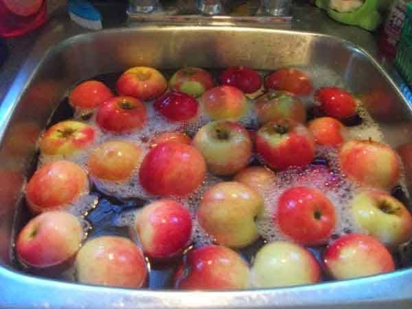 fructele si legumele trebuie curatate temeinic inainte de consumare