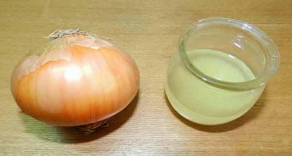 ceapa are proprietati antimicrobiene si regenerante pentru par