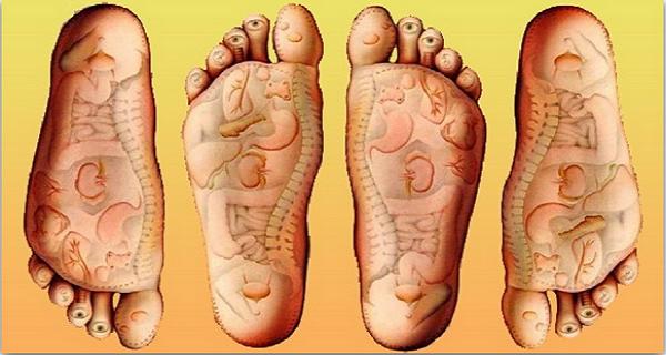 presopunctura si masajul talpilor contribuie la vindecarea mai multor boli fizice
