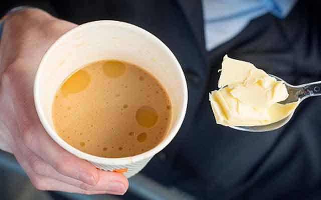 in mod surprinzator, amestecarea cafelei cu unt este o practica benefica