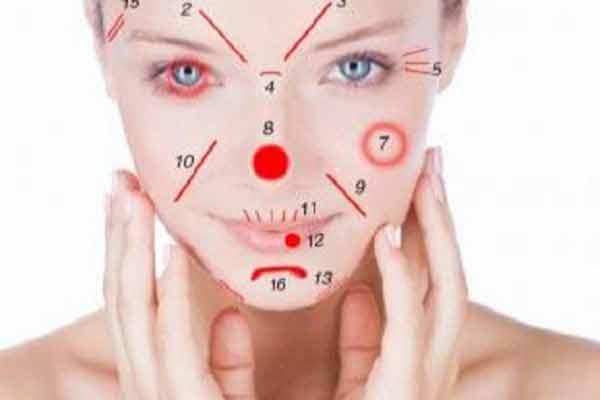 ridurile si semnele de pe fata iti indica bolile de care suferi