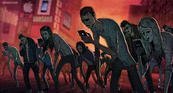 telefoanele mobile pot produce chiar defecte posturale