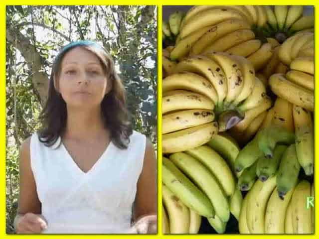 a slabit cu banane
