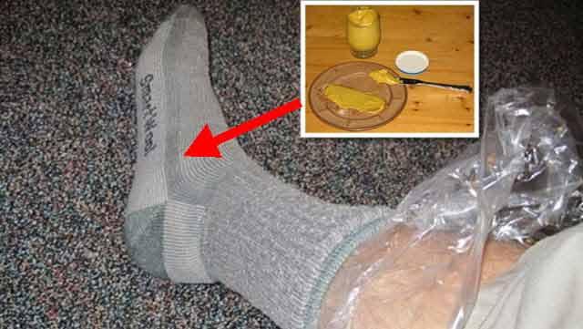 Masează-ți picioarele cu muștar pentru a scăpa de răceală și gripă într-o singură zi!