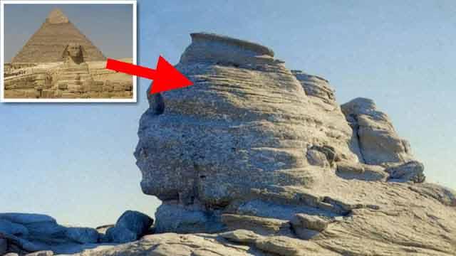 Șuvoi energetic între Sfinx și piramidele din Egipt