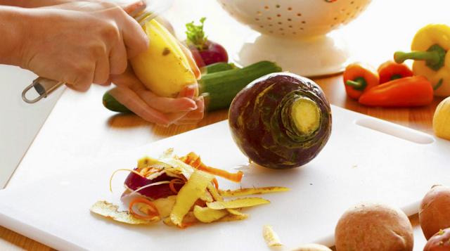 nu mai curata legumele si fructele de coaja