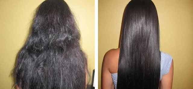 Cum să obții păr drept permanent cu o mască din ingrediente naturale