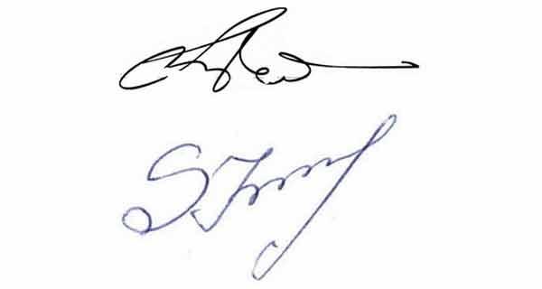 ce spune semnatura despre tine