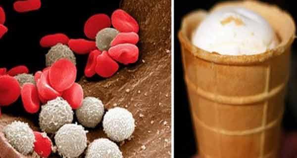 Ai o poftă nebună de înghețată? Este posibil să ai o lipsă mare de fier în organism….Ce e de făcut!
