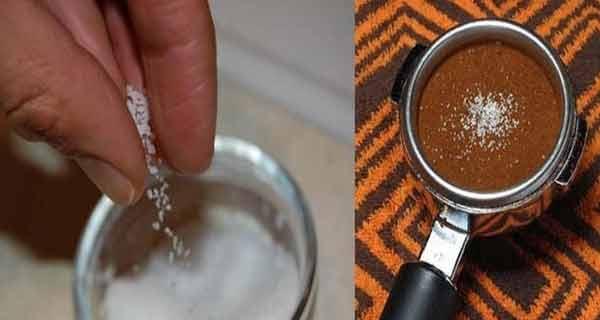 A pus puțină sare în cafea….după ce vei vedea de ce, vei face și tu la fel!