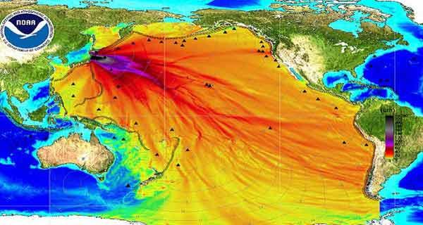 radiatiile de la fukushima au infestat oceanul pacific