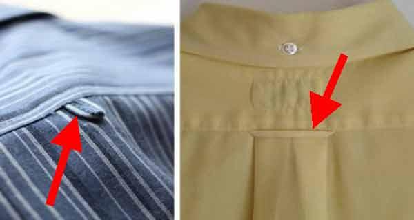 gaica din spatele camasilor la ce foloseste