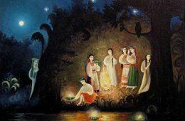 sarbatoarea sanzienelor obiceiuri si traditii