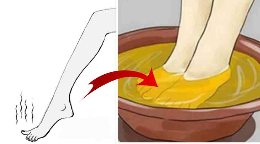 cum scapam de mirosul urat al picioarelor