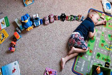 simpotome autism copii