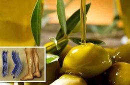 cum scap de varice folosind ulei de masline