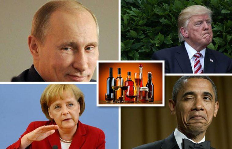 ce alcool consuma presedintii statelor mari