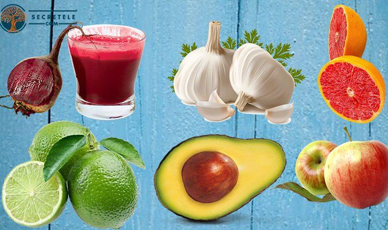 alimente ce ajuta la detoxifierea ficatului există mâncărimi cu veruci genitale