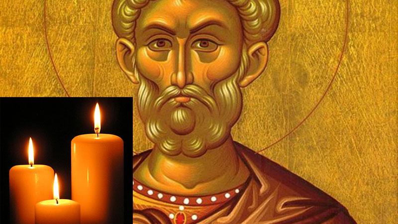 Lumânările aprinse si rugaciunile catre Sfântului Mina te ajută să recapeți ce-ai pierdut, te ajuta daca ai probleme în căsnicie, schimbă si gândul dușmanilor
