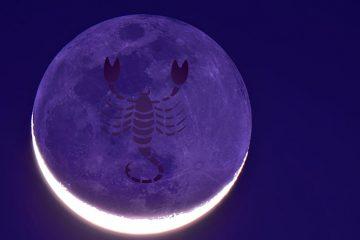 descopera luna noua in scorpion