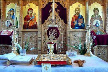 de ce se pune evanghelia in mijlocul bisericii
