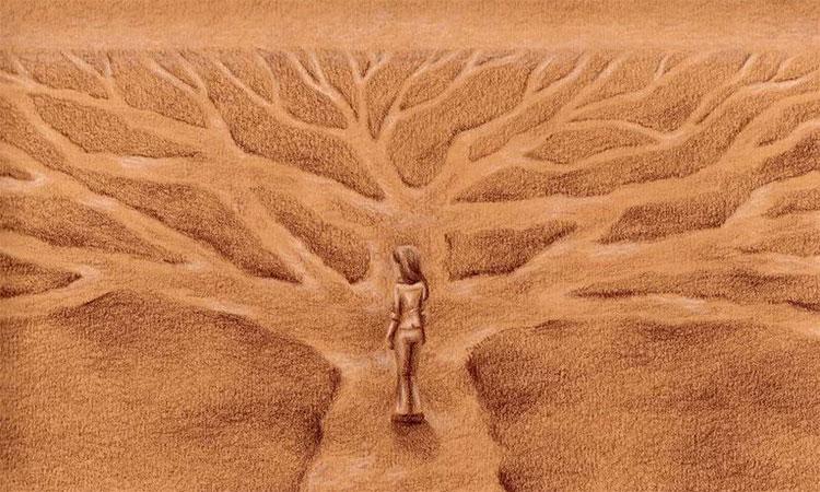 drumul corect in viata