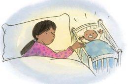 Si tu dormi cu copilul tau?