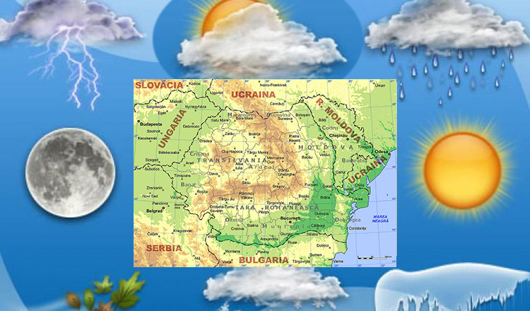 Vremea 1 mai in Romania