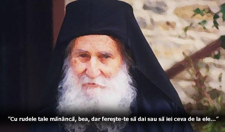 Sfaturi Părintele Iosif