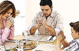 Rugăciuni înainte de masă