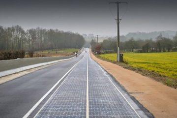 străzile pavate cu panouri solare