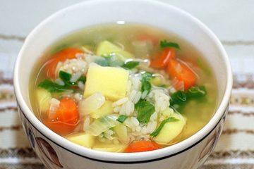 ciorbele și supele să fie fierte