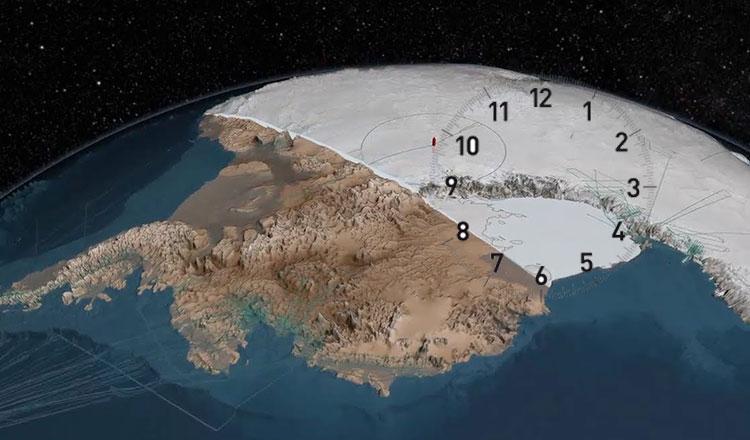 Antarctica continent fara fus orar