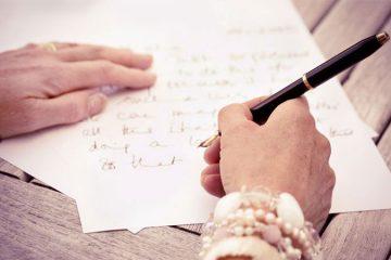 scrisoarea unei femei in varsta