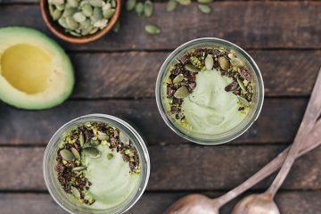Mousse de avocado