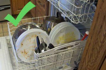 nu trebuie sa clatesti vasele din masina de spalat