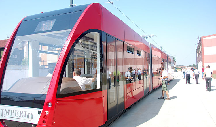 cluj tramvaie moderne