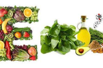 Necesarul zilnic de vitamina E