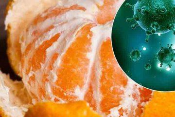 Otrava din cojile citricelor