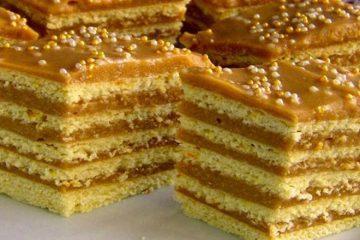 O prăjitură delicioasă