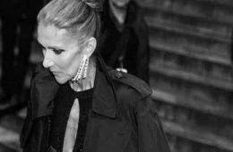 Celine Dion in doliu