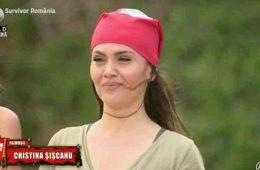 Cristina Siscanu in lacrimi