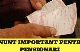 pensiile românilor!