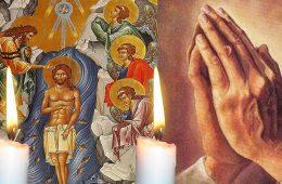 Rugăciune Bobotează