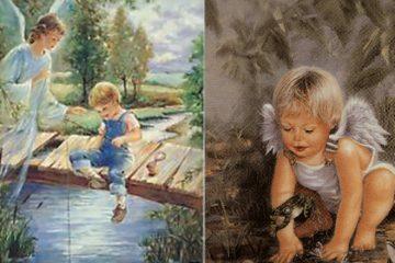 Băiețelul și îngerul