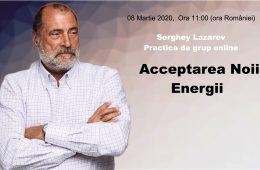 Noua Energie. Acceptarea Noii Energii
