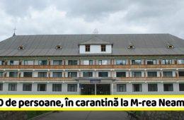 Spații pentru carantină în mănăstiri