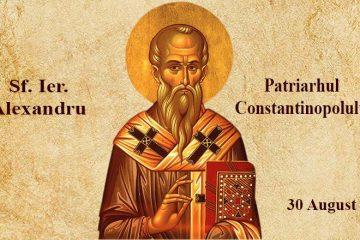 Rugăciune către Sfântul Ierarh Alexandru